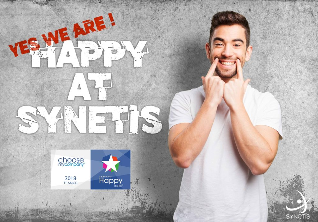 Read more about the article LAURÉAT 2018 : SYNETIS EST HAPPYINDEX®ATWORK !