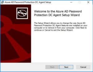 AzurAD password agent