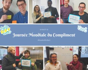 Read more about the article Journée du compliment chez Synetis
