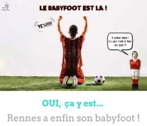 Petit nouveau à l'agence de Rennes