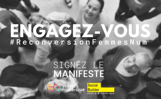 Read more about the article Manifeste   Femmes dans le Numérique