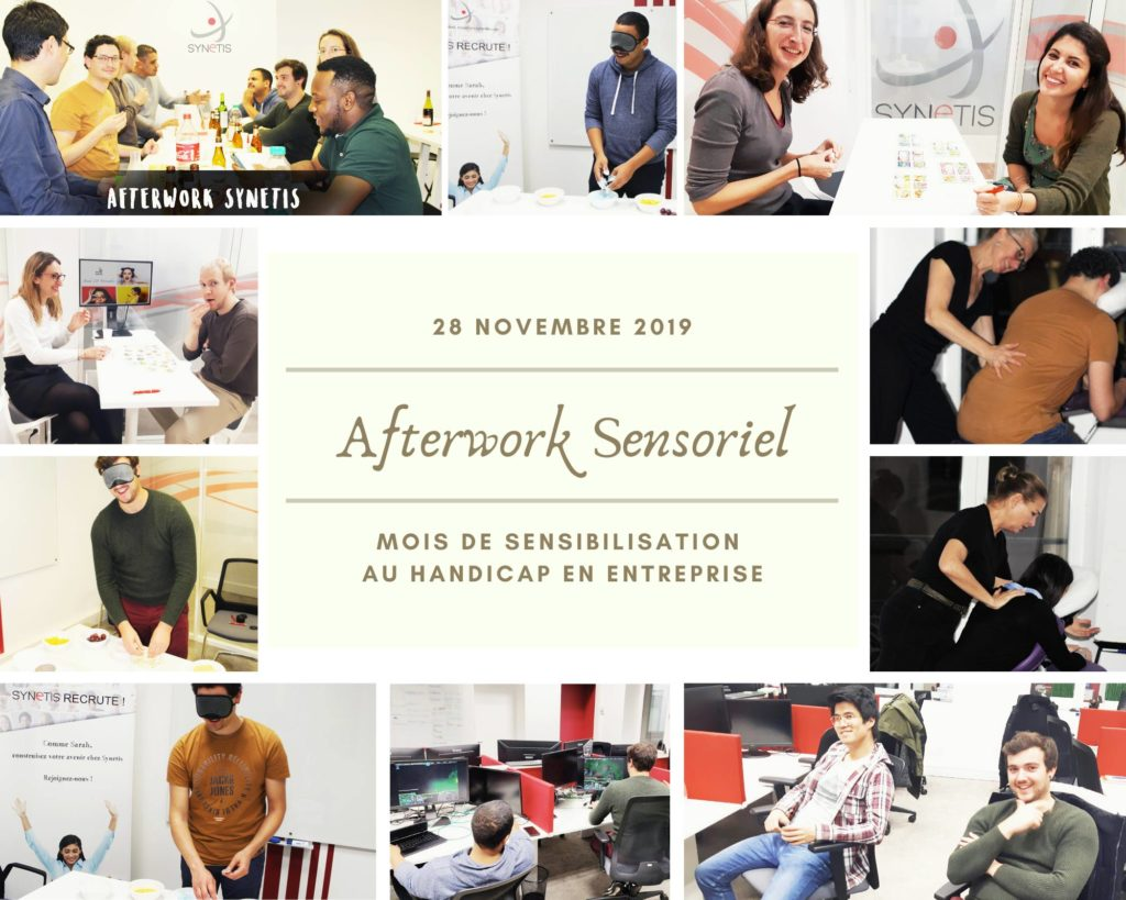 Read more about the article Afterwork Sensoriel | Éveil des sens