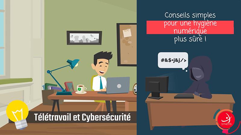 Read more about the article Télétravail & Cybersécurité