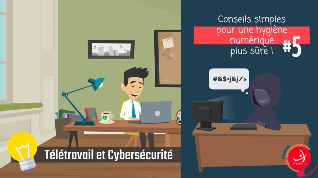 Read more about the article Télétravail & Cybersécurité #5
