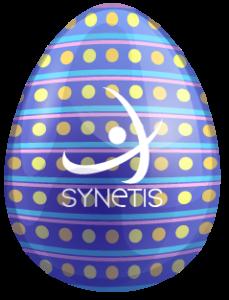 oeuf Synetis bleu