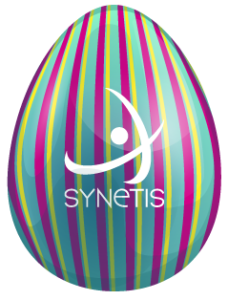 oeuf Synetis multicolor