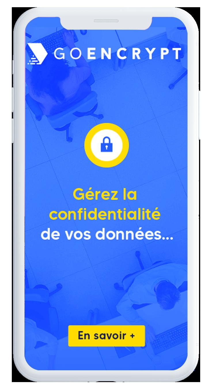 services goencrypt sur mobile