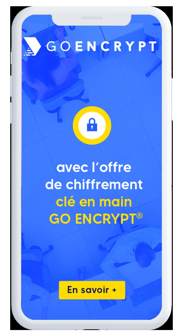 offre goencrypt sur mobile