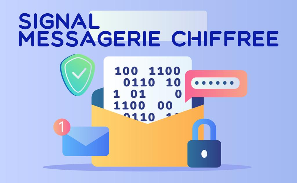 Read more about the article Signal, service de messagerie open-source le plus sûr !