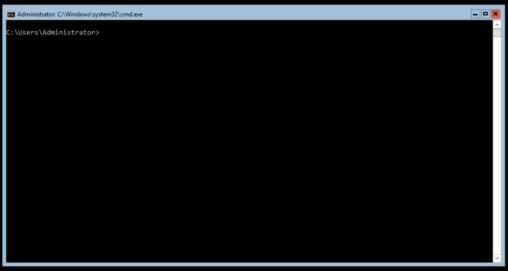 interface windows server 2016