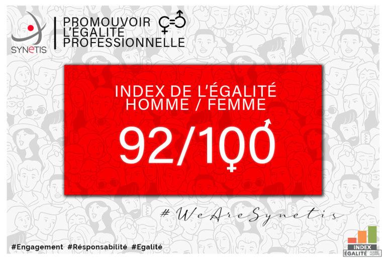 Index égalité professionnelle 2021