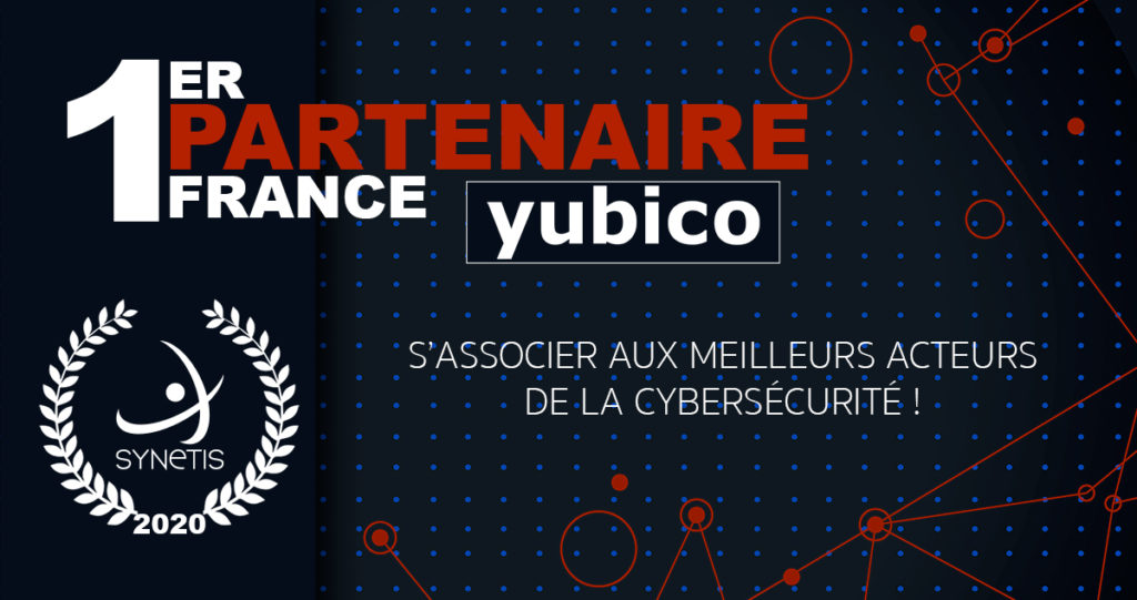 Read more about the article Synetis reconnu 1er partenaire France Yubico